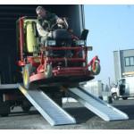 Ajoramppi, ajosilta 4100kg 2500mm x 360mm